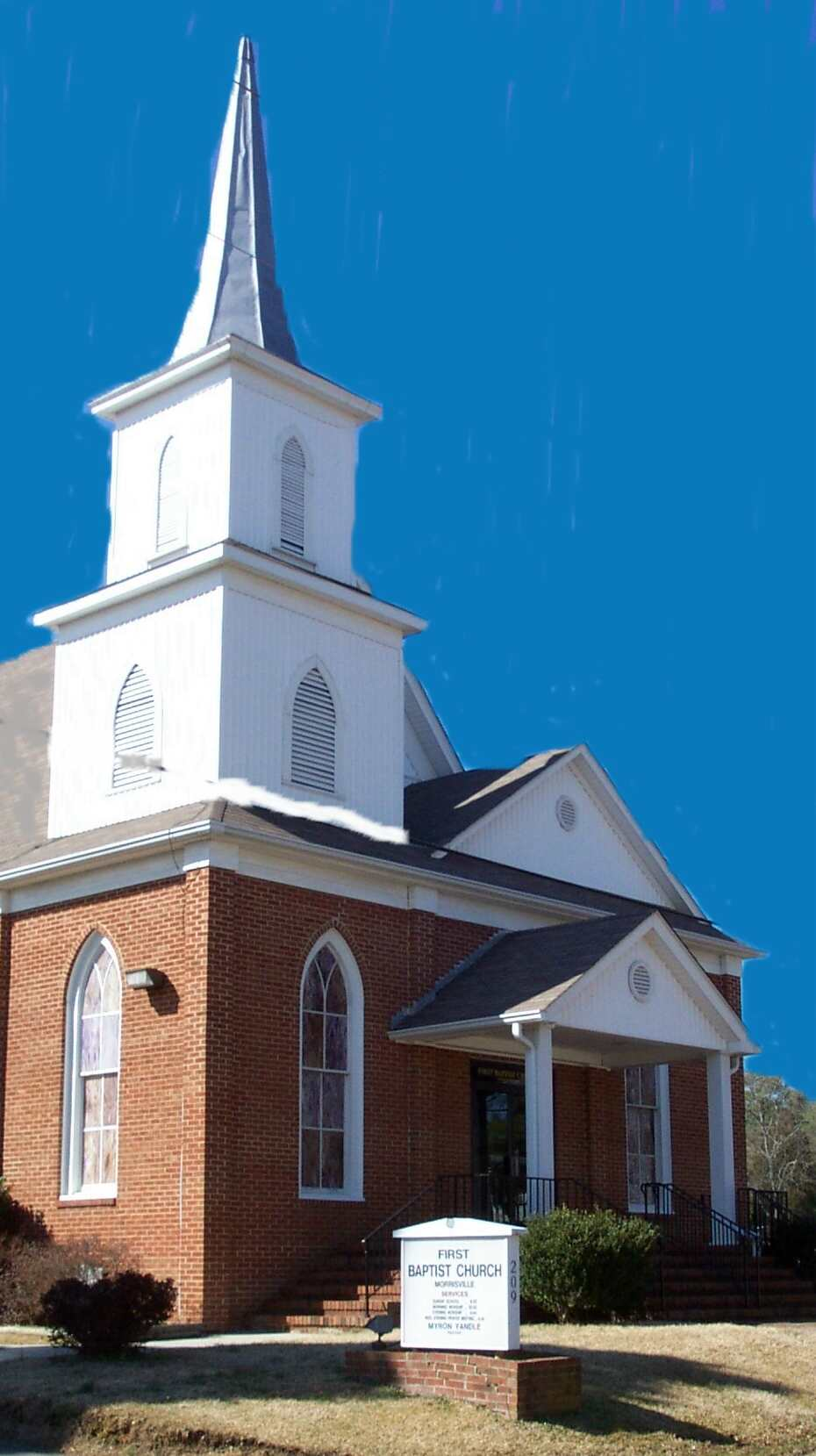 First Baptist Church of Morrisville, a light house in our community since 1866